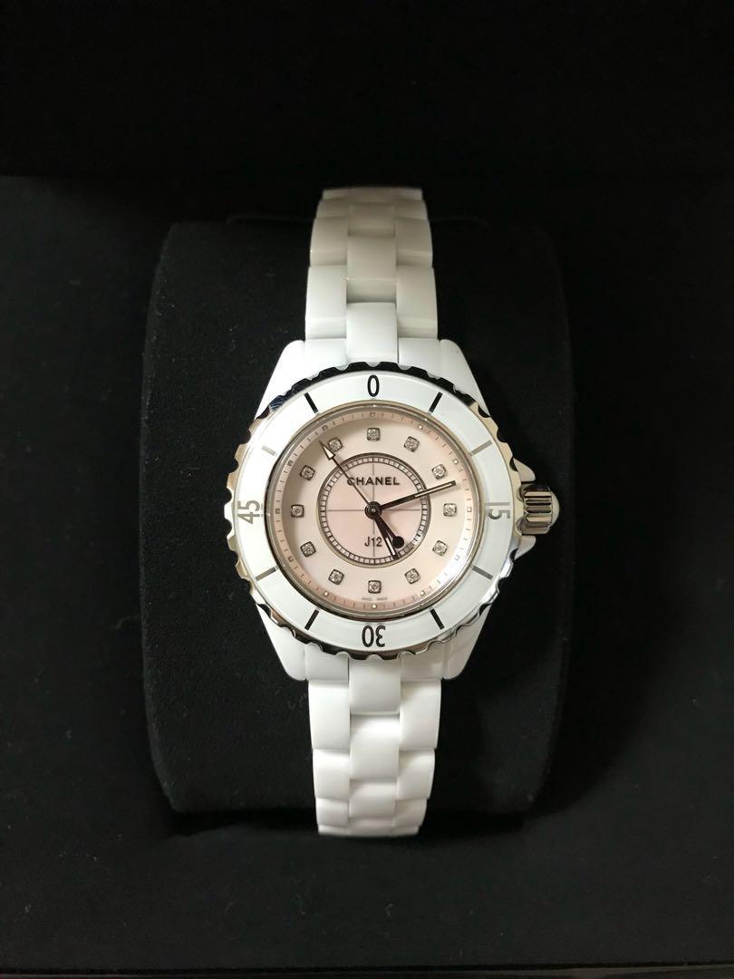 size 40 c3e97 56ee4 CHANEL J12コレクター ピンククォーツ シャネル 腕時計 レディース(¥820,000) - メルカリ スマホでかんたん フリマアプリ