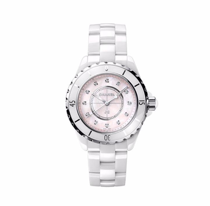 size 40 6f80f 53d58 CHANEL J12コレクター ピンククォーツ シャネル 腕時計 レディース(¥820,000) - メルカリ スマホでかんたん フリマアプリ