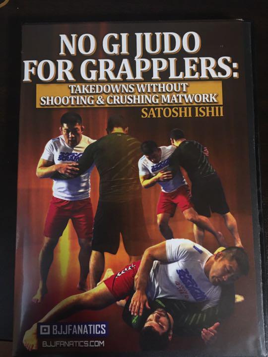 石井慧「NO GI JUDO FOR GRAPPLERS」柔術MMA2枚組DVD(¥4,000) - メルカリ スマホでかんたん フリマアプリ