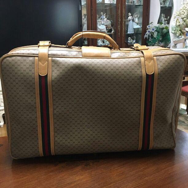 online store 178af 7faab GUCCIグッチ スーツケース 旅行鞄(¥25,000) - メルカリ スマホでかんたん フリマアプリ