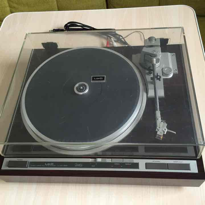 Record Player Lo-D HT-500 Direct DR vintage musical gear very rare from japan 1Q