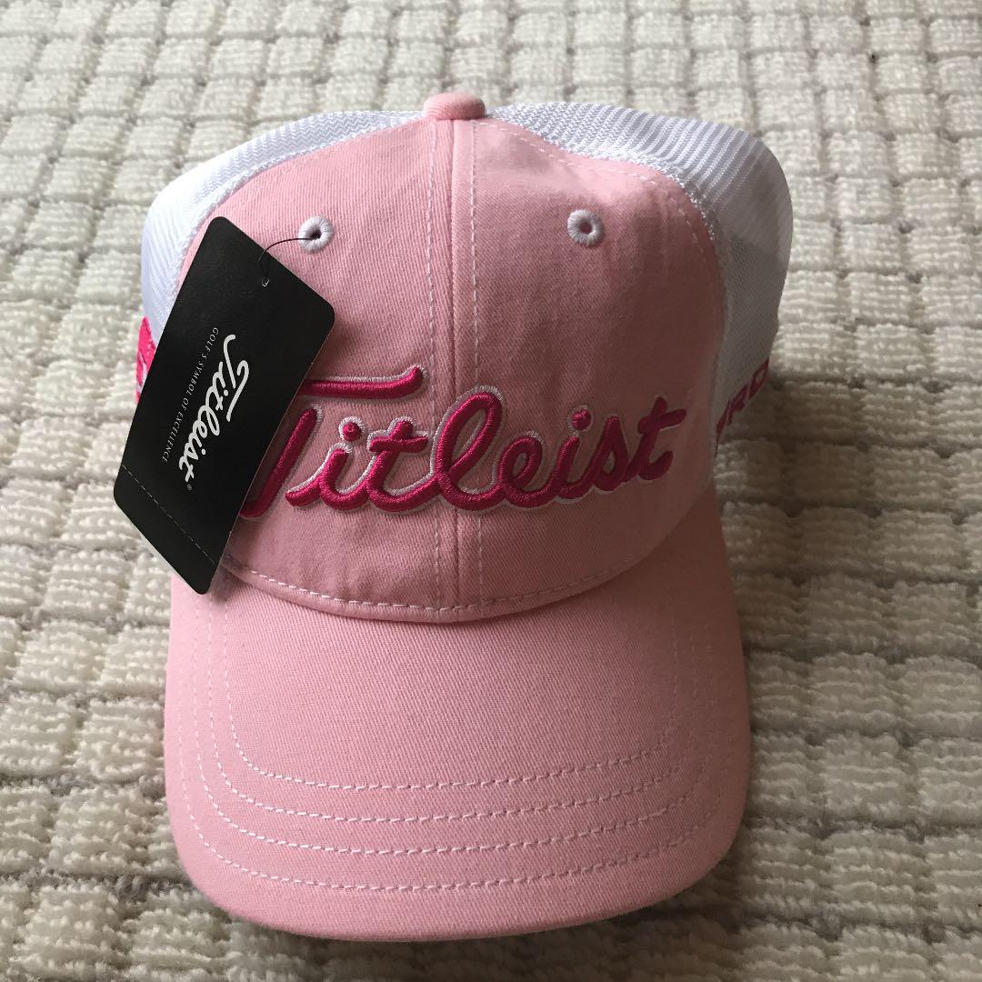 0fb6384901dcc メルカリ - 新品 タイトリスト キャップ 帽子ピンク 【ゴルフ】 (¥2,100 ...