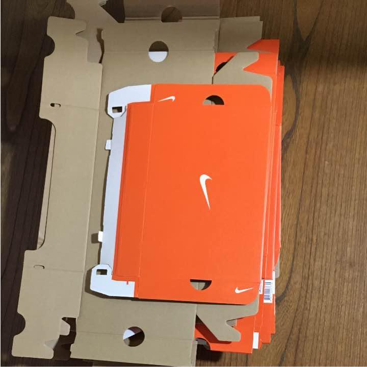 ナイキ 靴空箱 オレンジ色 10点セット NIKE シューズ 靴箱 梱包 工作(¥1,400) , メルカリ スマホでかんたん フリマアプリ
