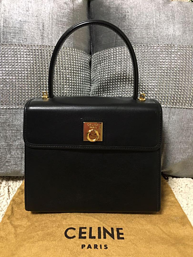 f3a7077c6ddb メルカリ - 【美品】セリーヌCELINE ハンドバッグ(ヴィンテージ ...