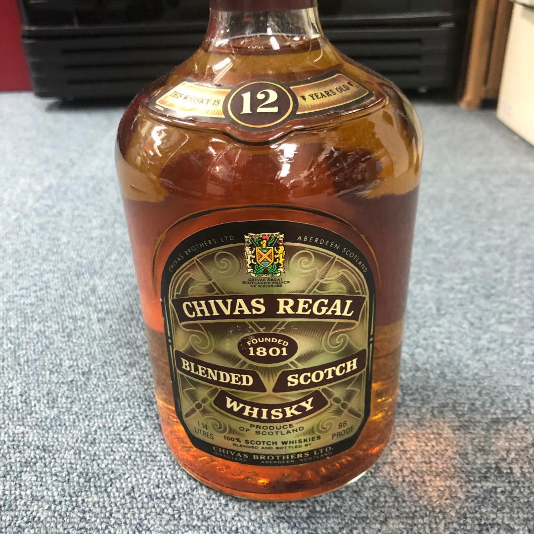 リーガル 12 シーバス 【スコッチのプリンス】シーバスリーガル12年(Chivas Regal