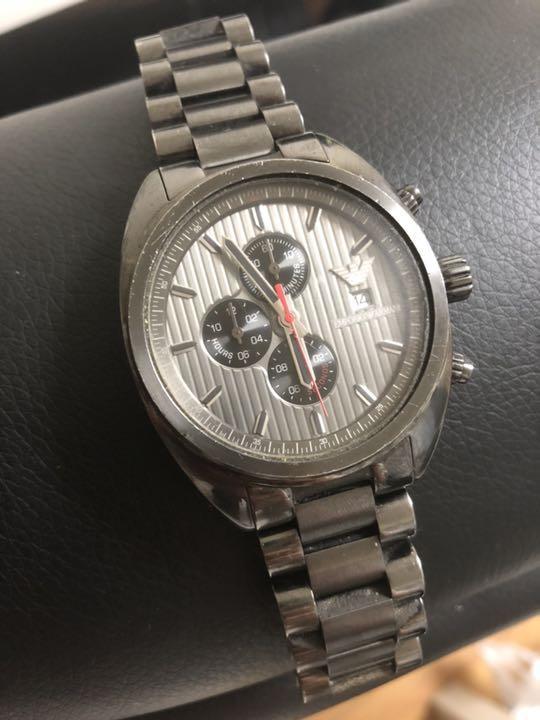 free shipping de3c4 268cb EMPORIO ARMANI(エンポリオ アルマーニ)時計(¥5,700) - メルカリ スマホでかんたん フリマアプリ