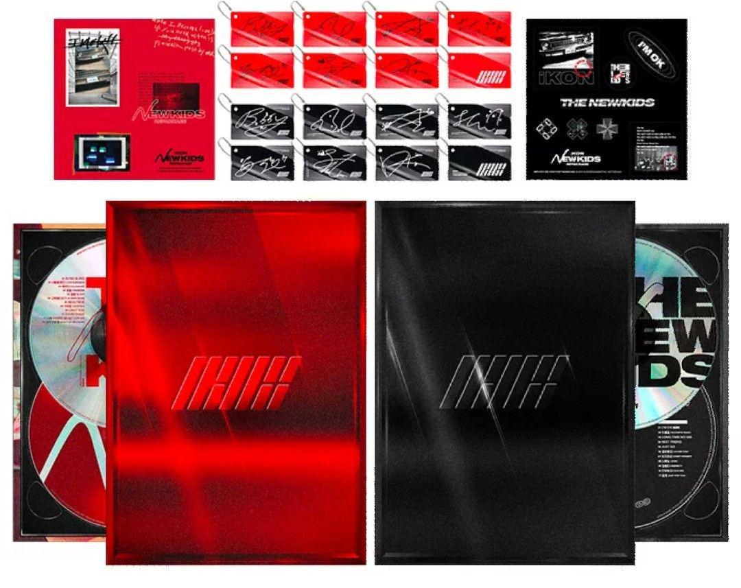 iKON RePackage Album THE NEW KIDS(¥ 2,500) - メルカリ スマホでかんたん フリマアプリ
