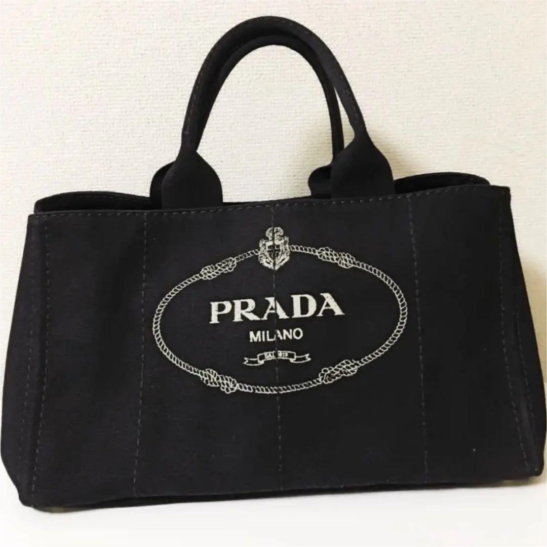 81ac49905e5a メルカリ - PRADA プラダ カナパ 大 Lサイズ 黒 ブラック NERO 【トート ...