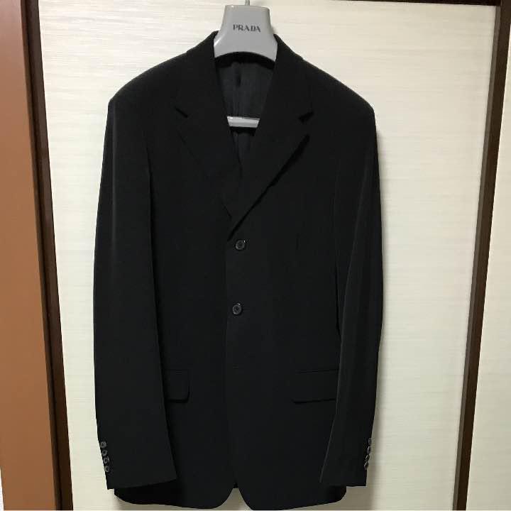 100% authentic f4711 65fff 【ユーベ様専用】プラダ スーツ 46R(¥ 18,000) - メルカリ スマホでかんたん フリマアプリ