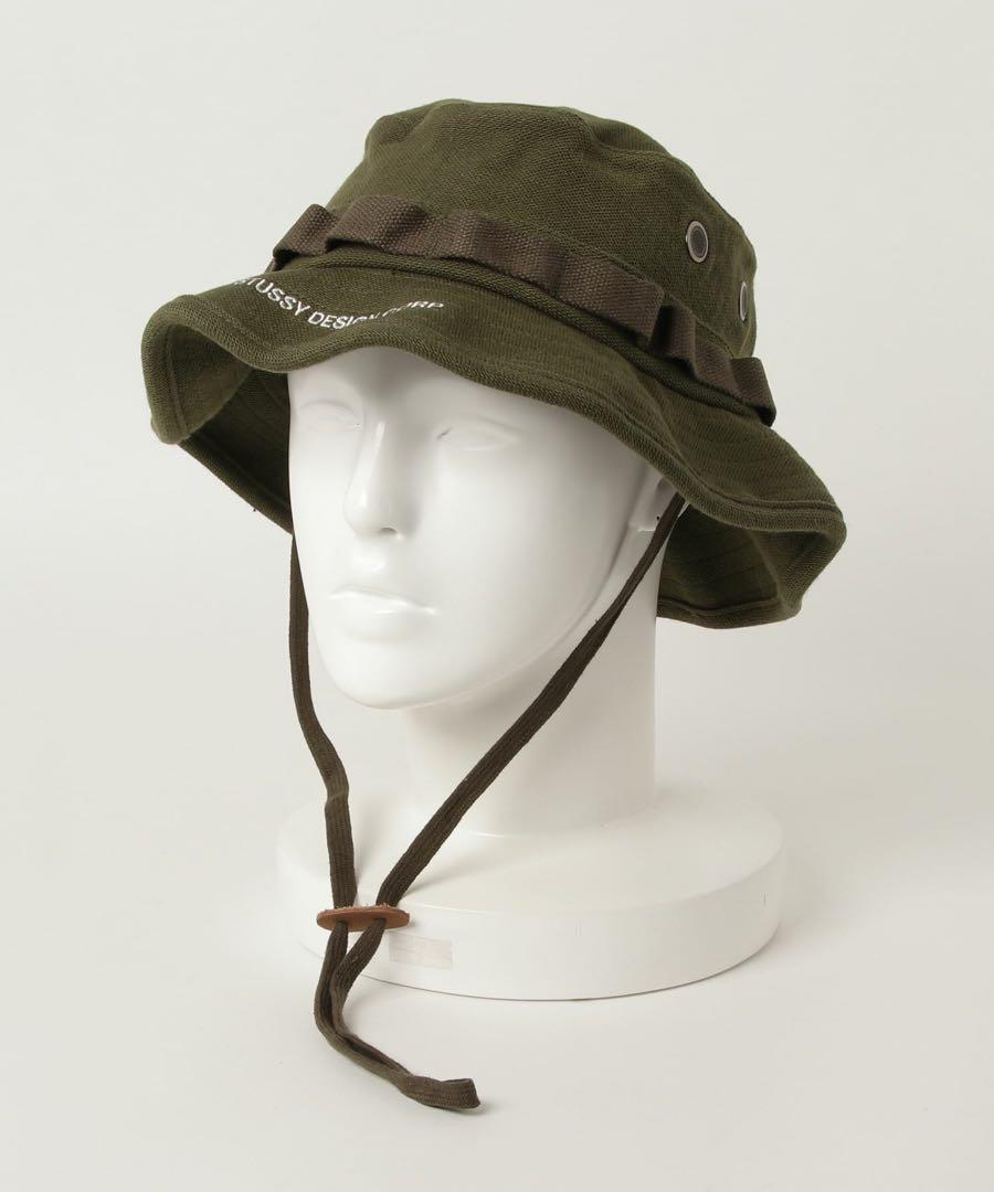 7ec510d2dec メルカリ - STUSSY Jungle Cloth Boonie Hat  ハット  (¥3