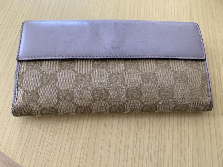 ae8b7e03ac0b メルカリ - GUCCI レディース 財布 【長財布】 (¥2,500) 中古や未使用の ...