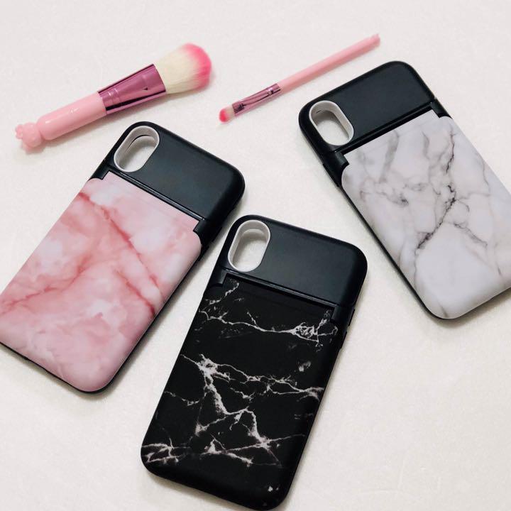 1b660806eb メルカリ - 化粧直しに最適❤ 鏡 スタンド iPhone 7 8 plus X ...