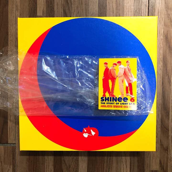 SHINee The Story of Light Ep 2【CDのみ】(¥ 888) - メルカリ スマホでかんたん フリマアプリ