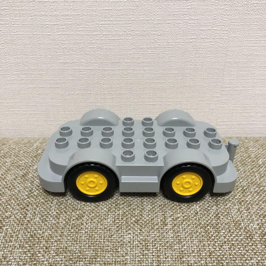 Lego Duplo Item Engine Block Gray