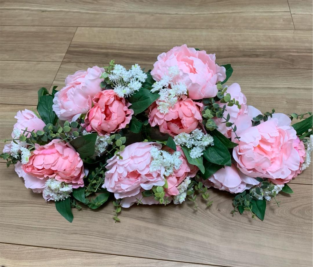メルカリ 結婚式 テーブル装花 ブーケ 造花 Ikea イケア フラワー