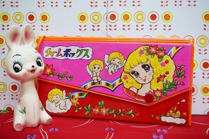 メルカリ 昭和レトロポップチャームボックスレターセット少女漫画