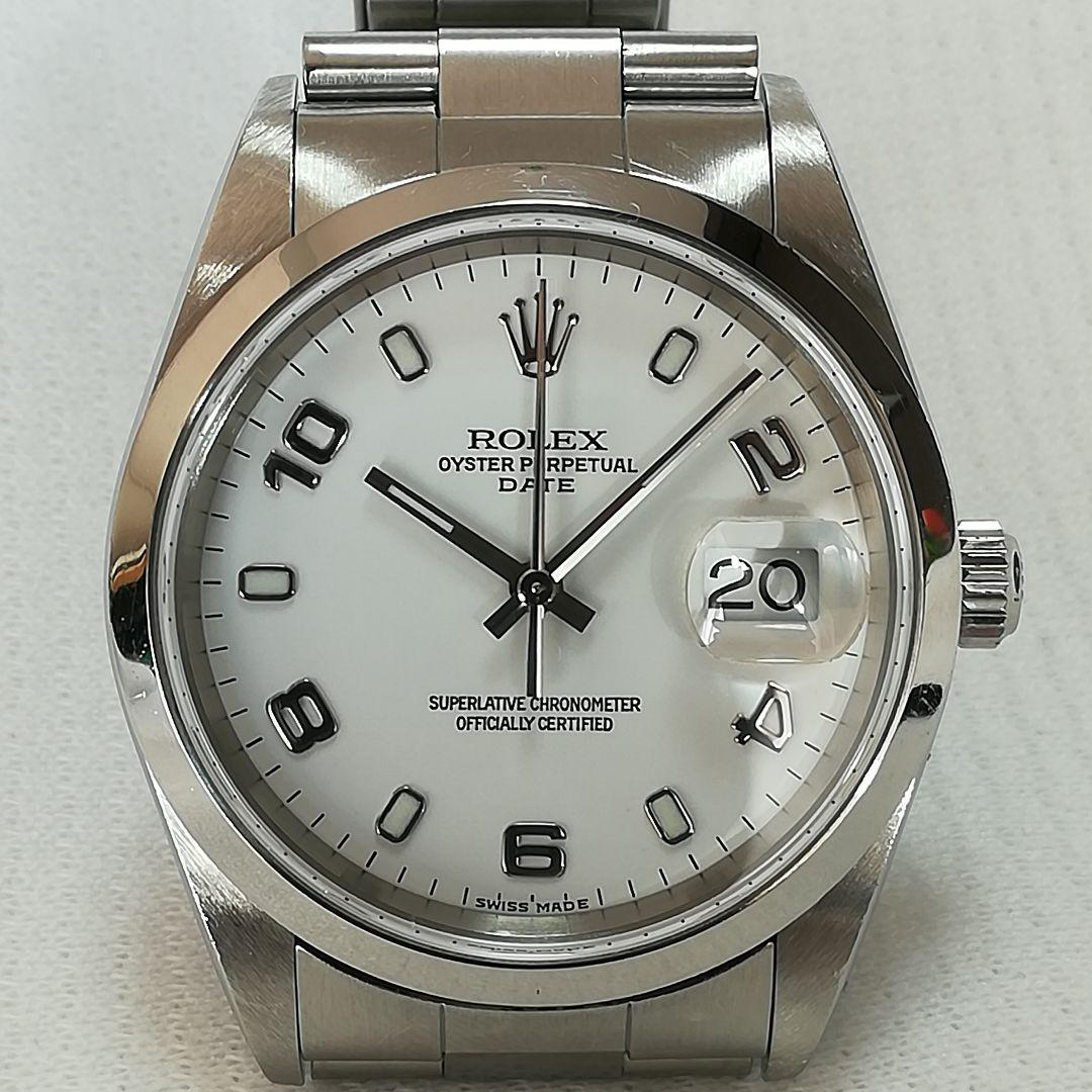 san francisco 2fa97 1f2f3 ロレックス パーペチュアルデイト 15200 Y番 アラビア文字 腕時計 美品(¥285,000) - メルカリ スマホでかんたん フリマアプリ