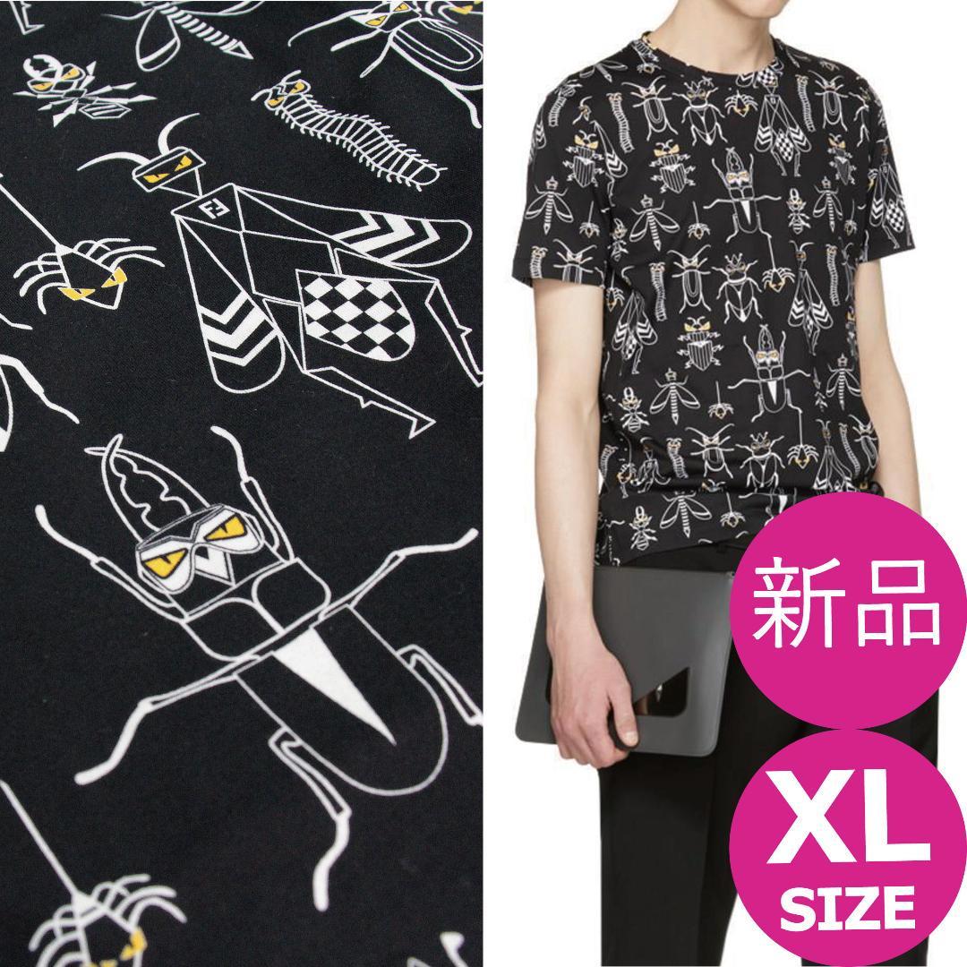 super popular 7b329 0ab92 FENDI フェンディ スーパーバグズ Tシャツ BUGS XLサイズ(¥37,936) - メルカリ スマホでかんたん フリマアプリ
