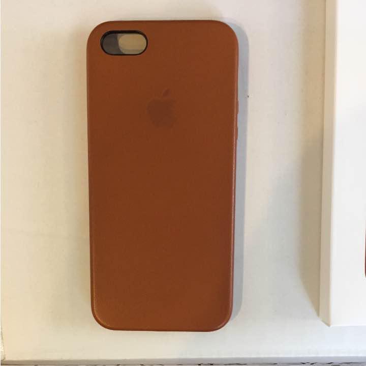 6bc3a2c699 メルカリ - MNYW2FE/A iphone SE レザーケース サドルブラウン 【iPhone ...