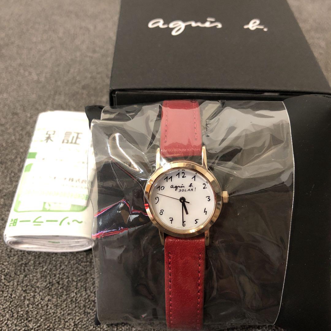 値下げ★again b. レディース腕時計 アニエスベー