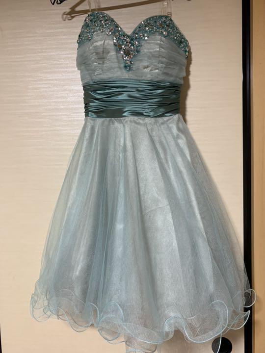 メルカリ ドレス 結婚式ドレス 緑 妖精 結婚式 ウエディング
