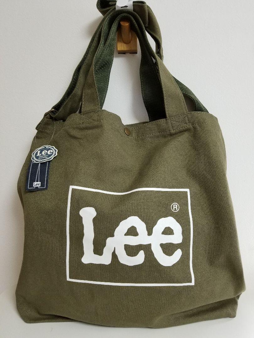 f7b613f572e9 メルカリ - Lee 2WAYビックトートバッグ(KHAKI) 【リー】 (¥3,100) 中古 ...