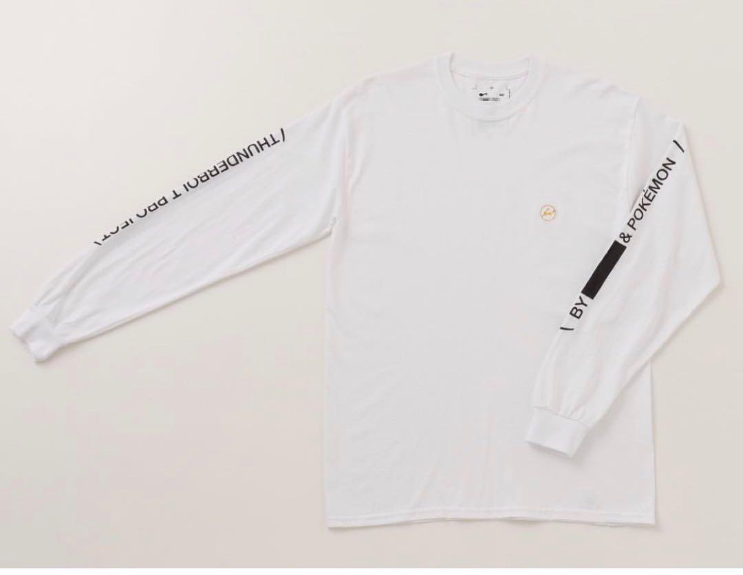 02c3ee614466a メルカリ - 藤原ヒロシ×ポケモン ロンT  Tシャツ カットソー(七分 長袖 ...