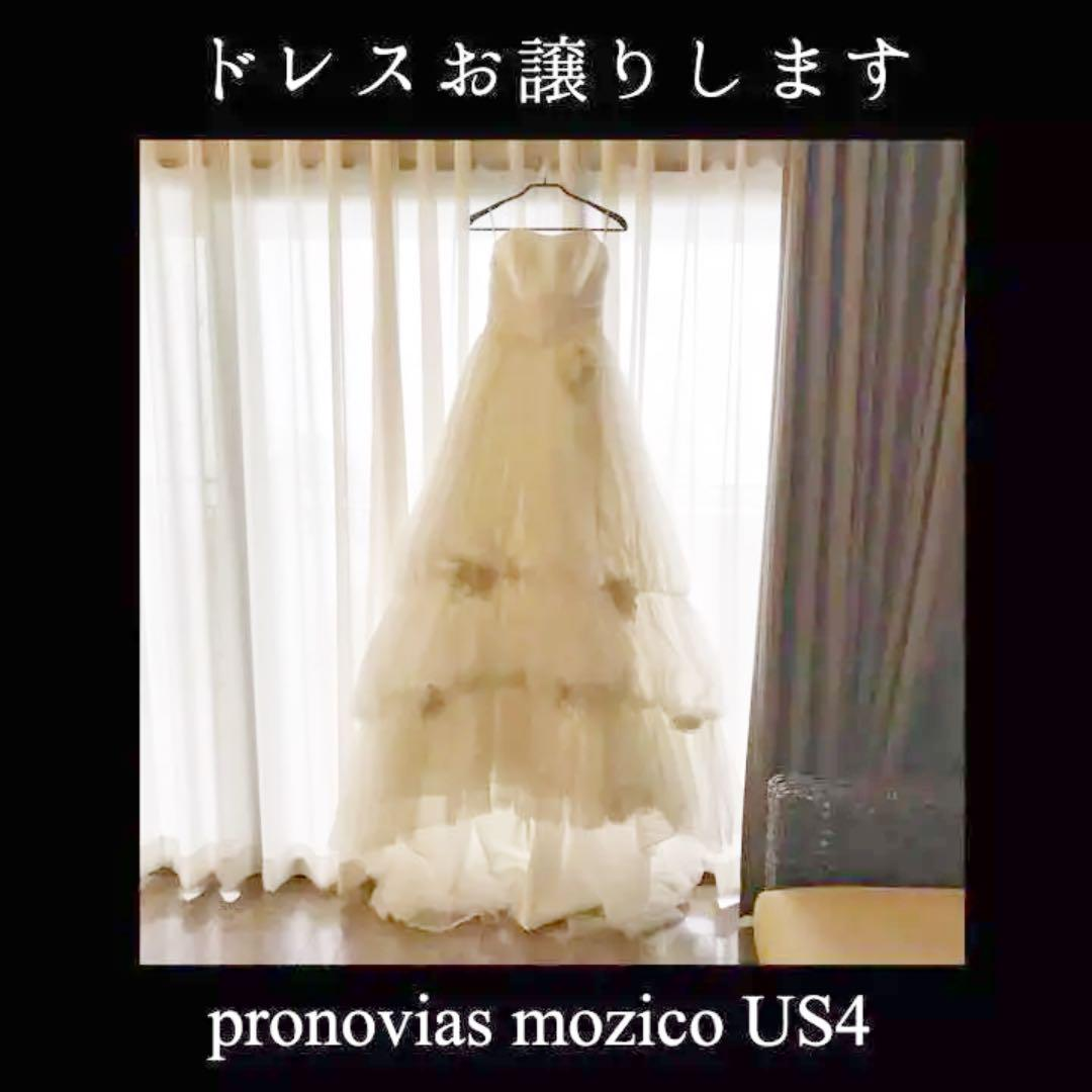 b44dc839fd3b9 メルカリ - pronovias mozico US4 ウェディングドレス (¥8