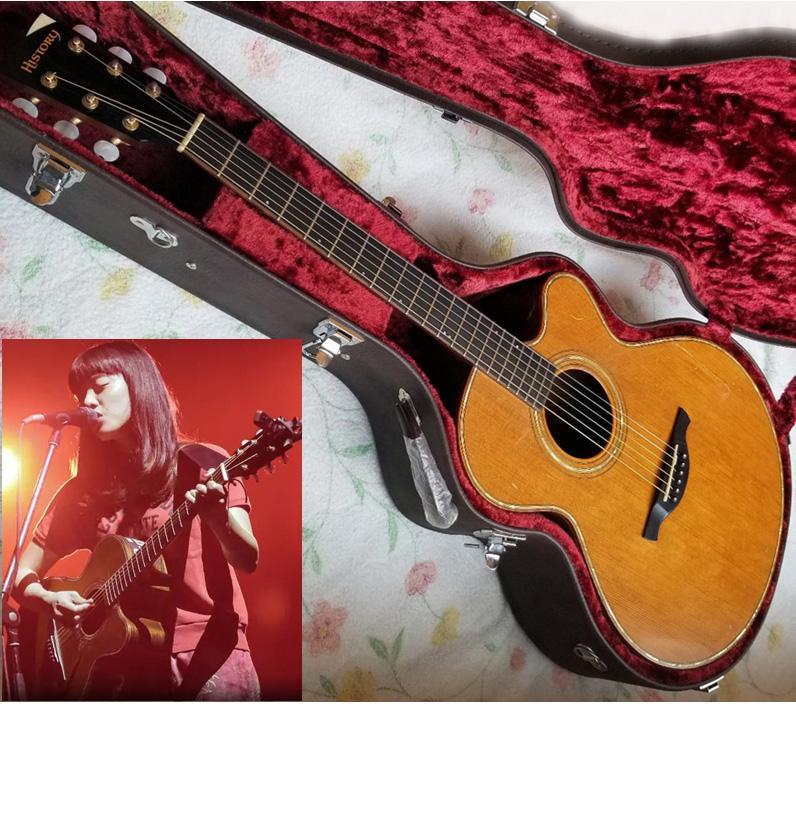 あいみょん 使用ギター