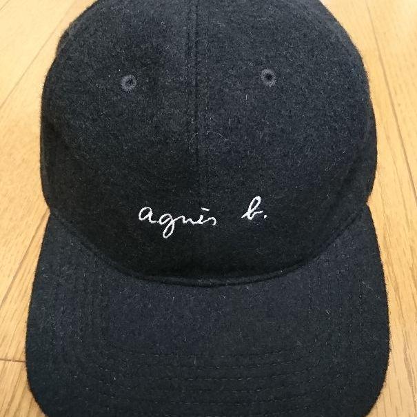 fbb91a28b8a メルカリ - agnes b. × pour ADAM ET ROPE  CAP(WOOL)  キャップ ...