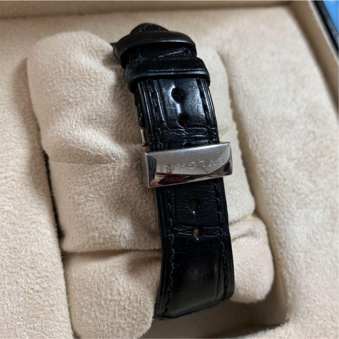 new arrivals 3b22a 76d08 ブルガリ アショーマ 48mm クロノグラフ メンズ 時計(¥300,000) - メルカリ スマホでかんたん フリマアプリ