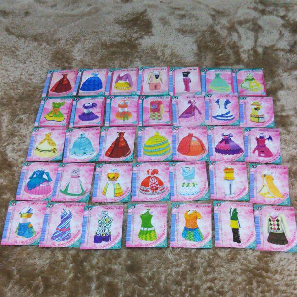ラブandベリー カード 27枚 ドレスアップカード(¥333) , メルカリ スマホでかんたん フリマアプリ