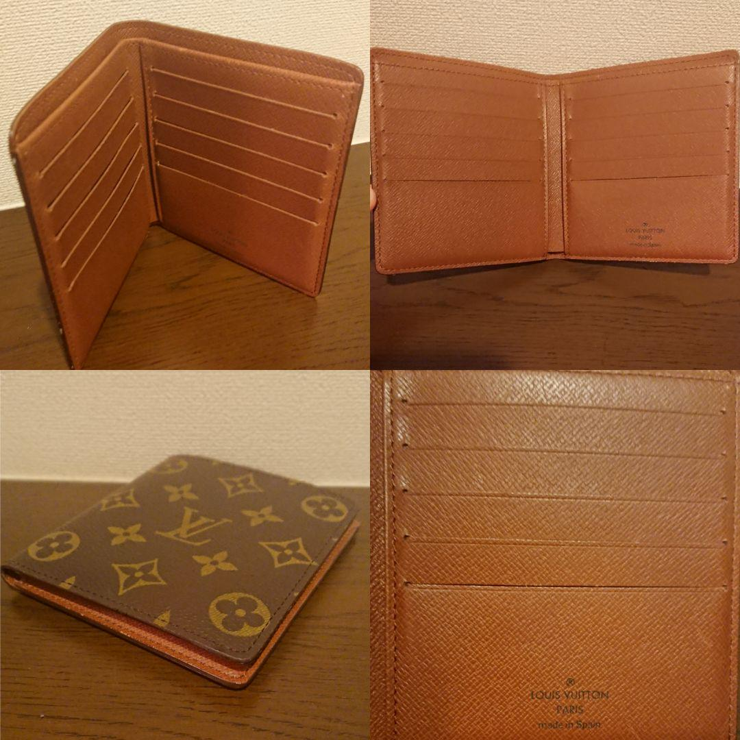 wholesale dealer ba935 e92b7 未使用 ルイヴィトン モノグラム 二つ折り財布 名刺入れ 財布 カードケース(¥15,500) - メルカリ スマホでかんたん フリマアプリ