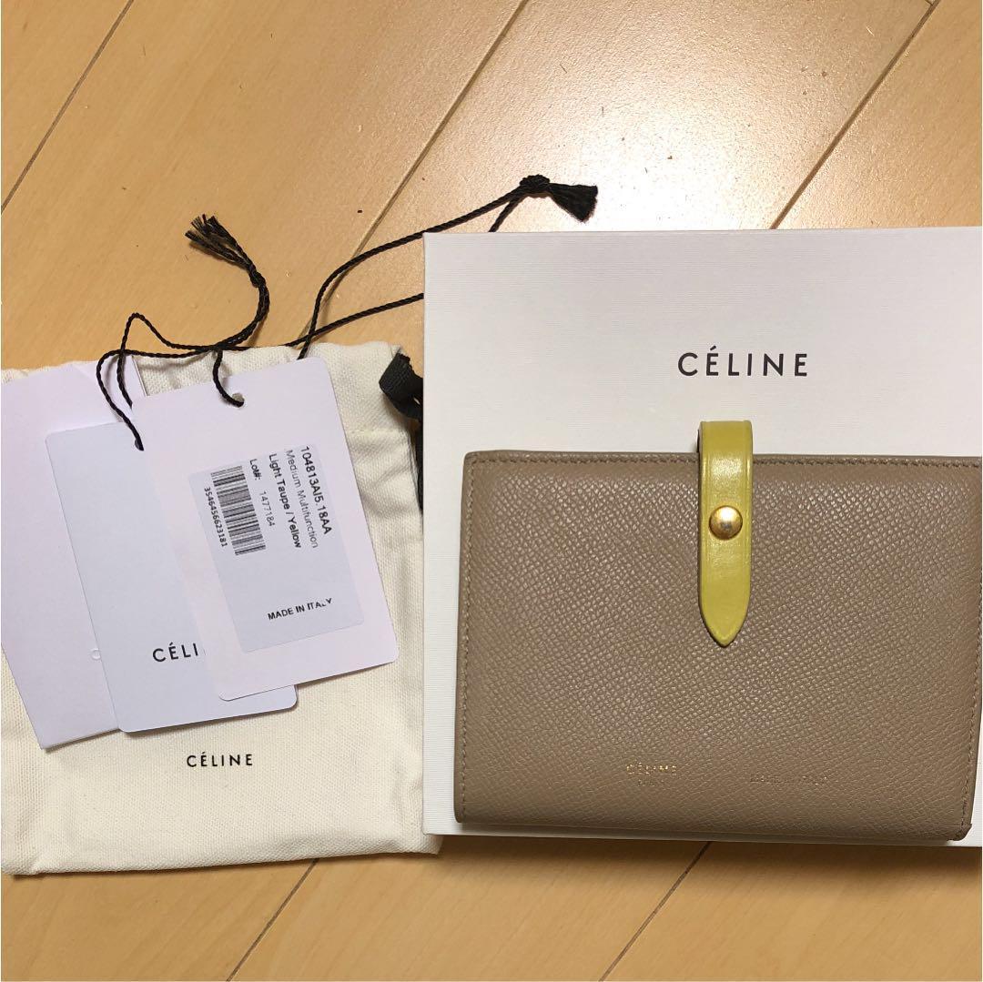 quality design 5bb26 5e80e セリーヌ ストラップ バイカラー 財布(¥33,500) - メルカリ スマホでかんたん フリマアプリ