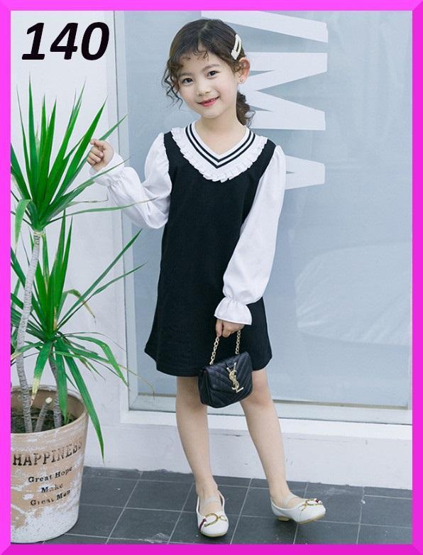 b857ca1b7cba3 メルカリ - 140 女の子 かわいい フォーマル ワンピース 小学生 韓国子供 ...