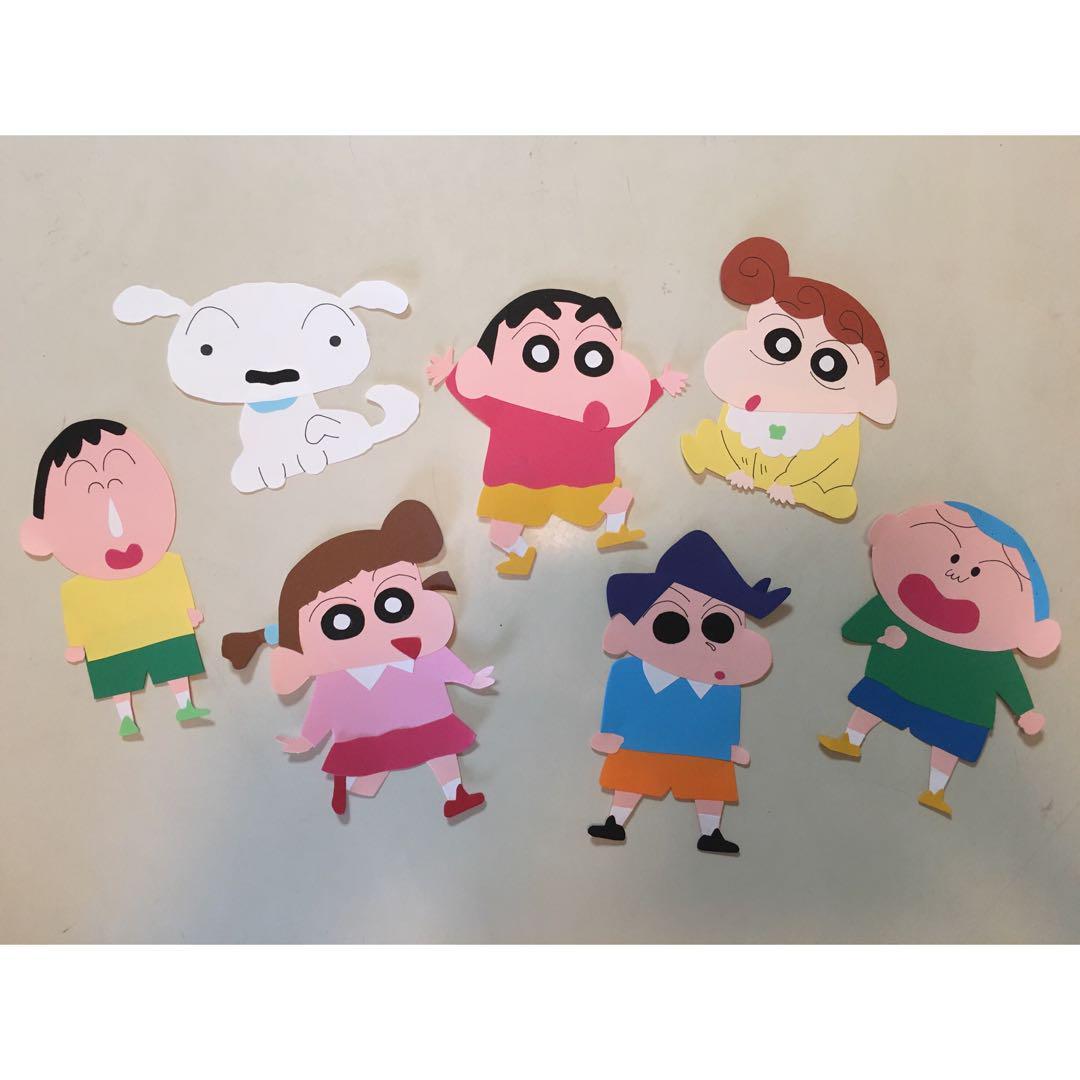クレヨンしんちゃん風 誕生日 壁面187 しんちゃん キャラクター1500 メルカリ スマホでかんたん フリマアプリ