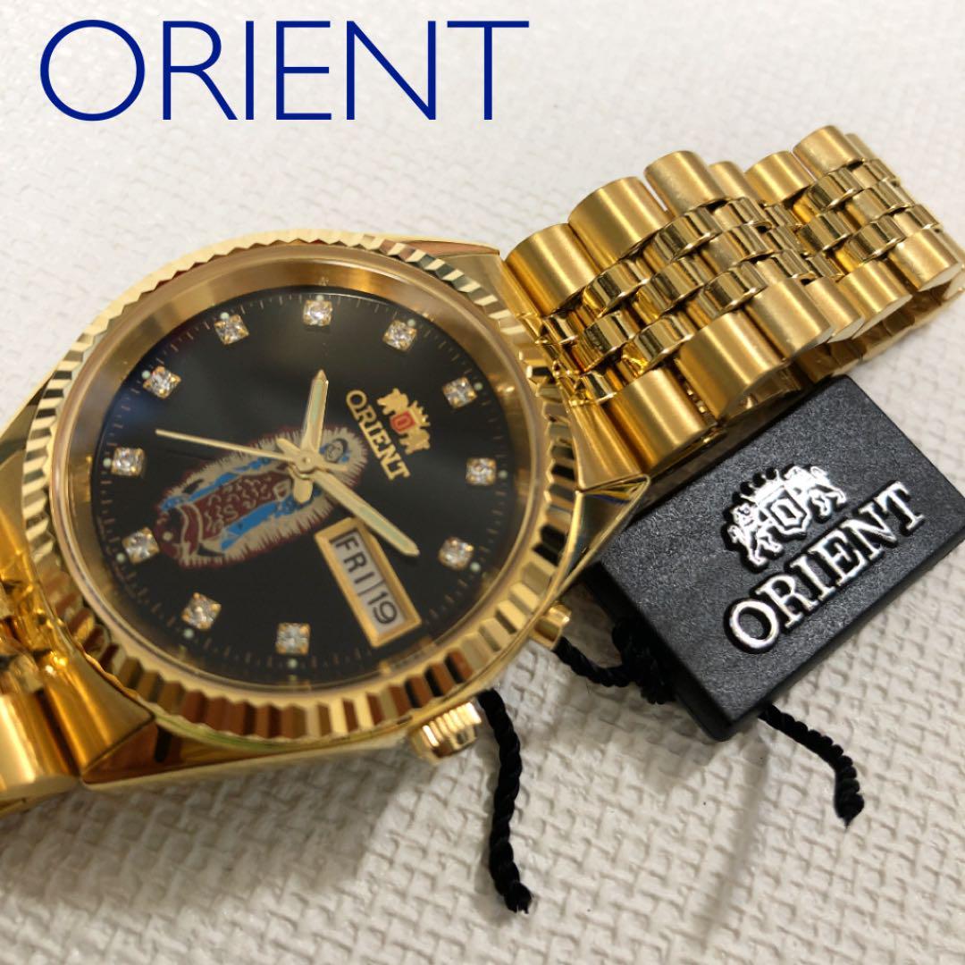 newest 4effb a109a 未使用 オリエント ORIENT メンズ時計 自動巻 (¥19,800) - メルカリ スマホでかんたん フリマアプリ
