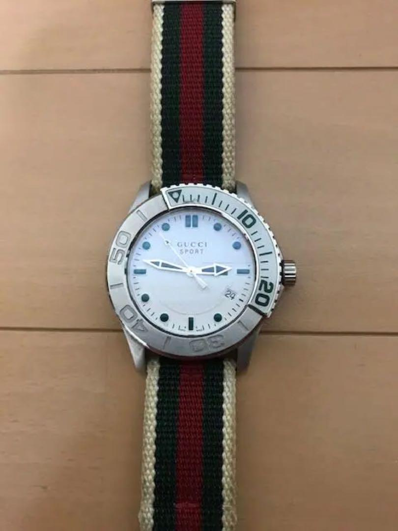 half off 9e299 37d57 GWセールグッチスポーツ腕時計(¥21,000) - メルカリ スマホでかんたん フリマアプリ