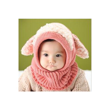 6c2d994084d8e メルカリ - うさ耳ニット帽 キッズ 冬の帽子 (¥1,200) 中古や未使用のフリマ