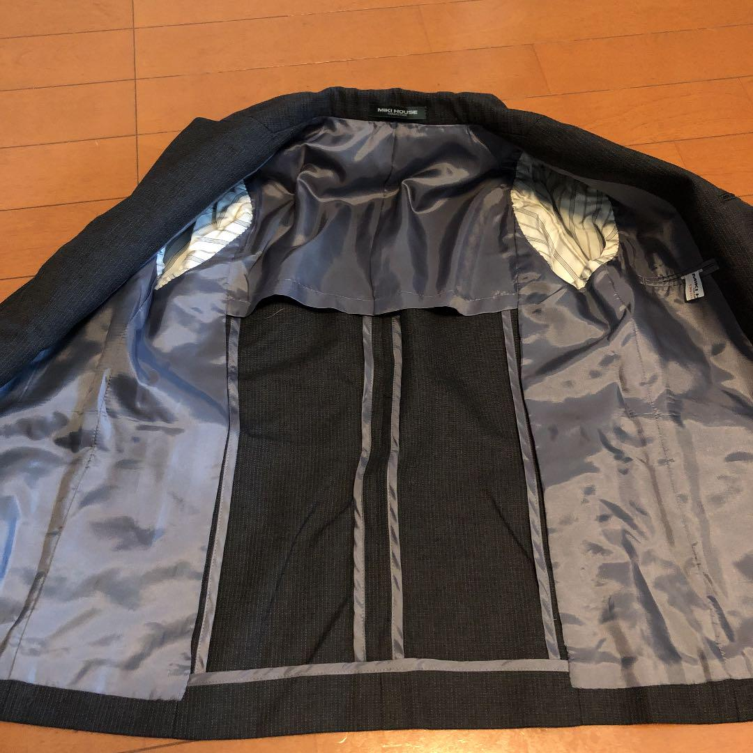 20024714c34eb メルカリ - ミキハウス 男の子 スーツ上下セット 130  フォーマル ...