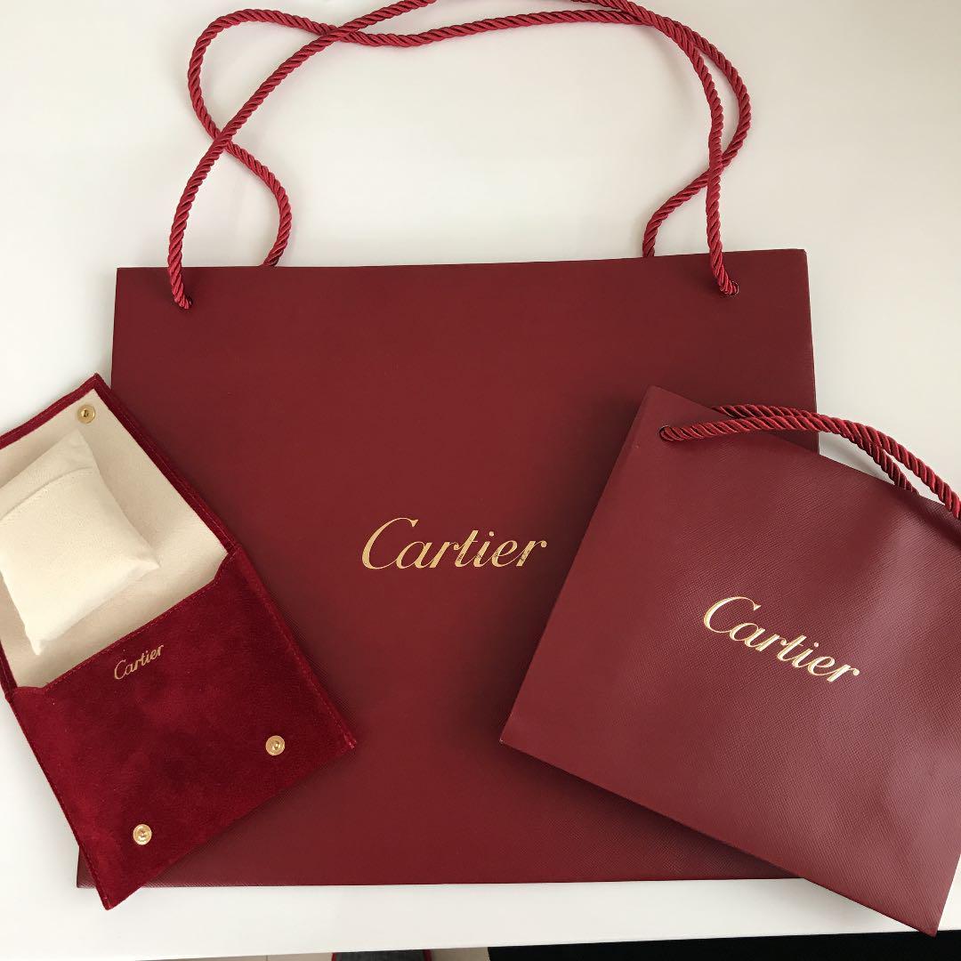 カルティエ ショップ袋 紙袋+アクセサリー、時計袋(¥1,000) , メルカリ スマホでかんたん フリマアプリ