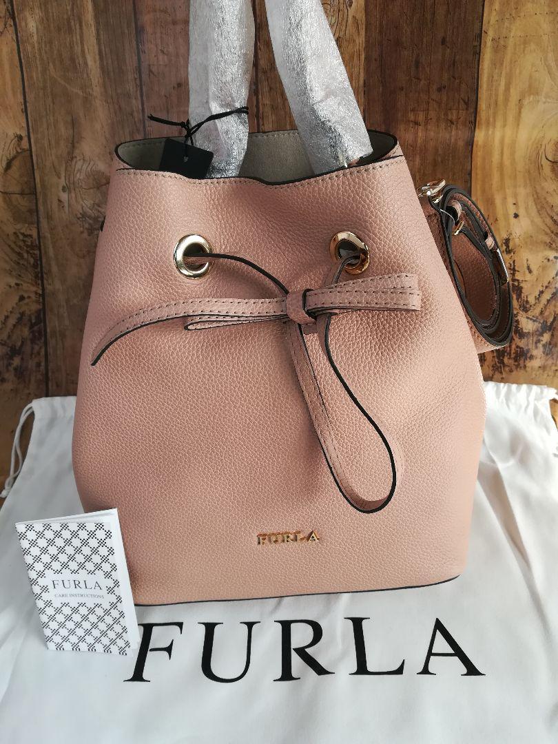 fb7bb5f808f6 メルカリ - フルラ costanza コスタンザ 2wayバッグ 巾着型 【ショルダー ...