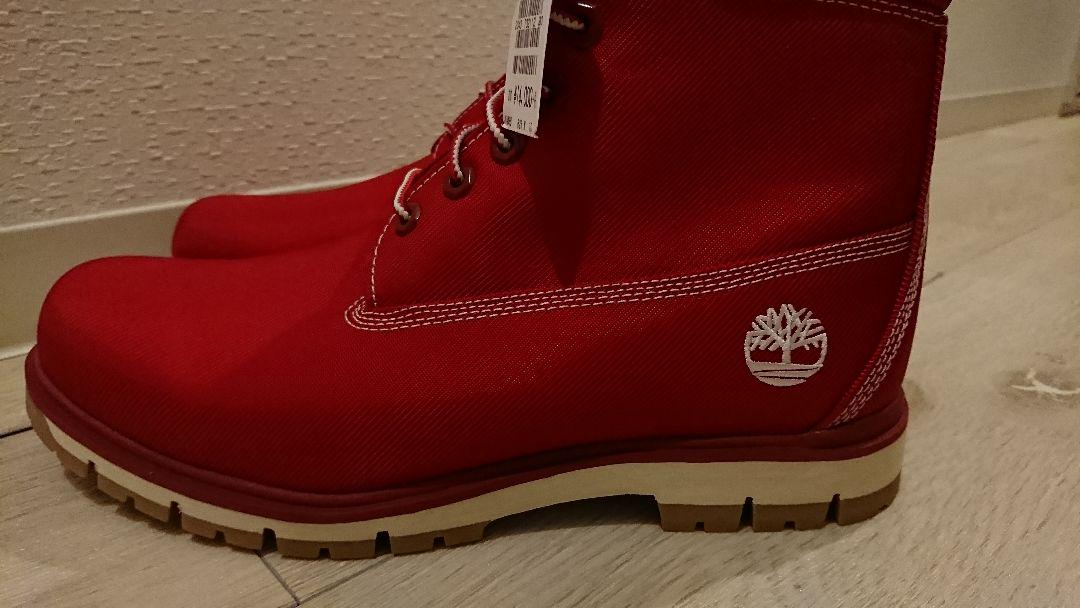 Timberland RADFORD CANVAS BOOT RED(¥8,000) ???? ???????? ??????