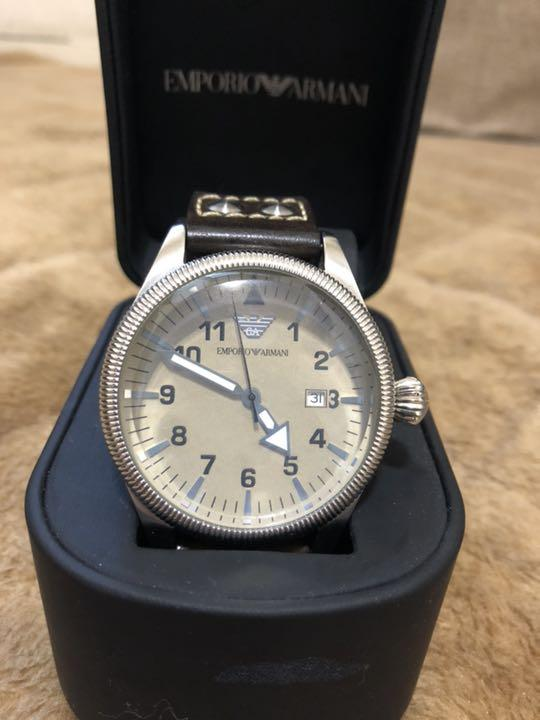 best loved 3d9fa 3ea59 年末セール!!値下げしました!腕時計 エンポリオ アルマーニ メンズ(¥4,800) - メルカリ スマホでかんたん フリマアプリ