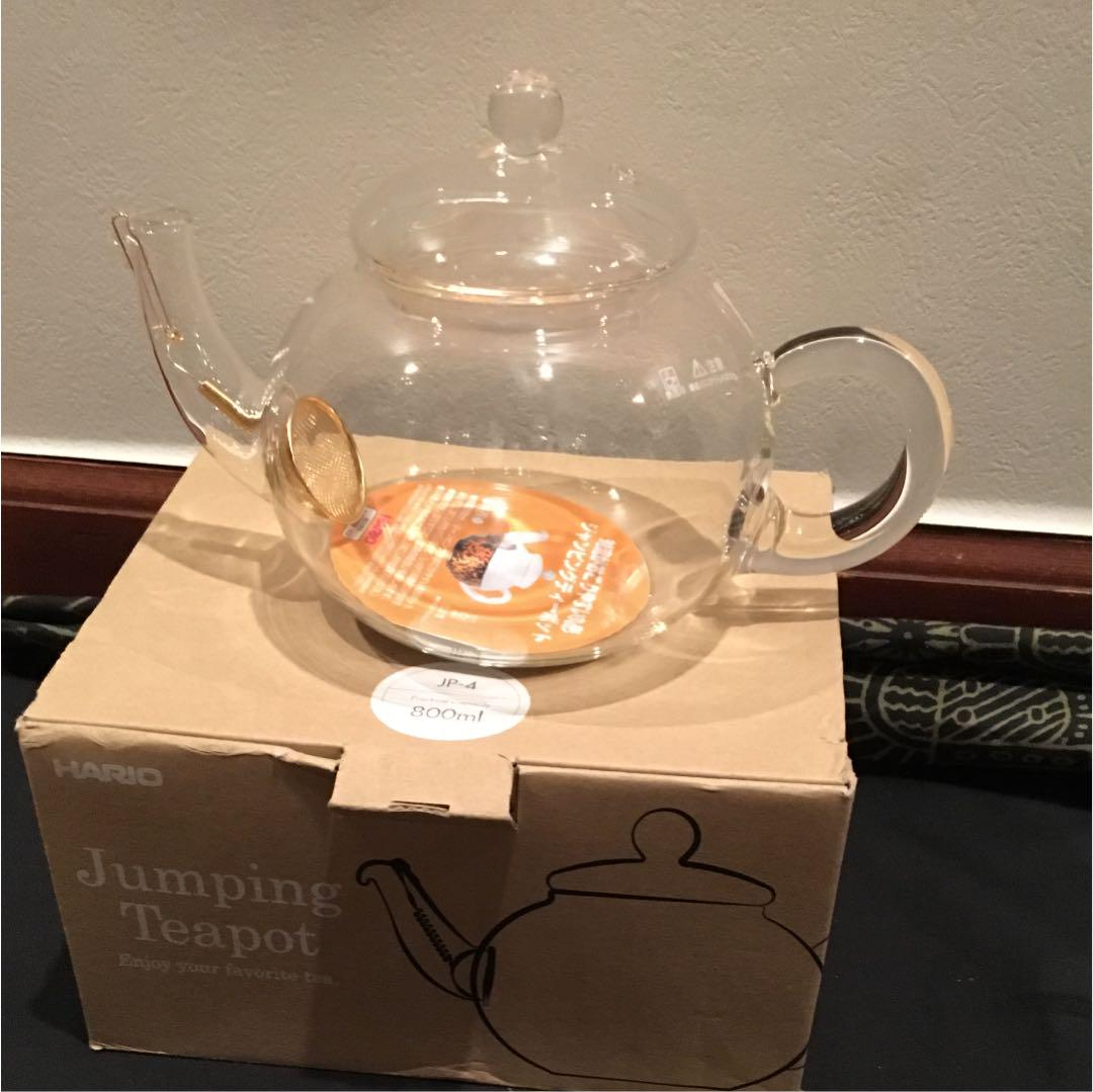 Other Coffee Tea Espresso Makers Hario Jumping Teapot 800ml Appliances Appliances Coffee Tea Espresso Makers