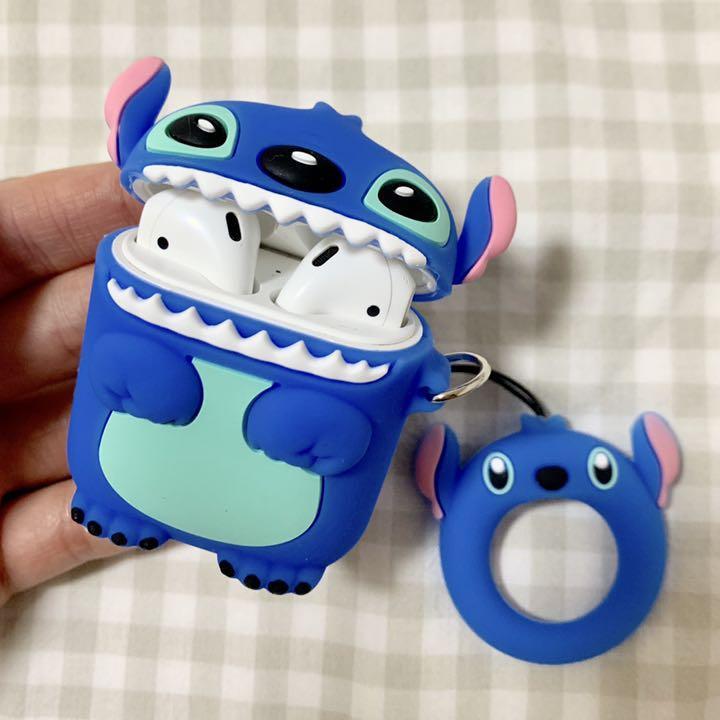 スティッチ airpods ケース ディズニー エアーポッズ 新品 韓国(¥1,170) , メルカリ スマホでかんたん フリマアプリ