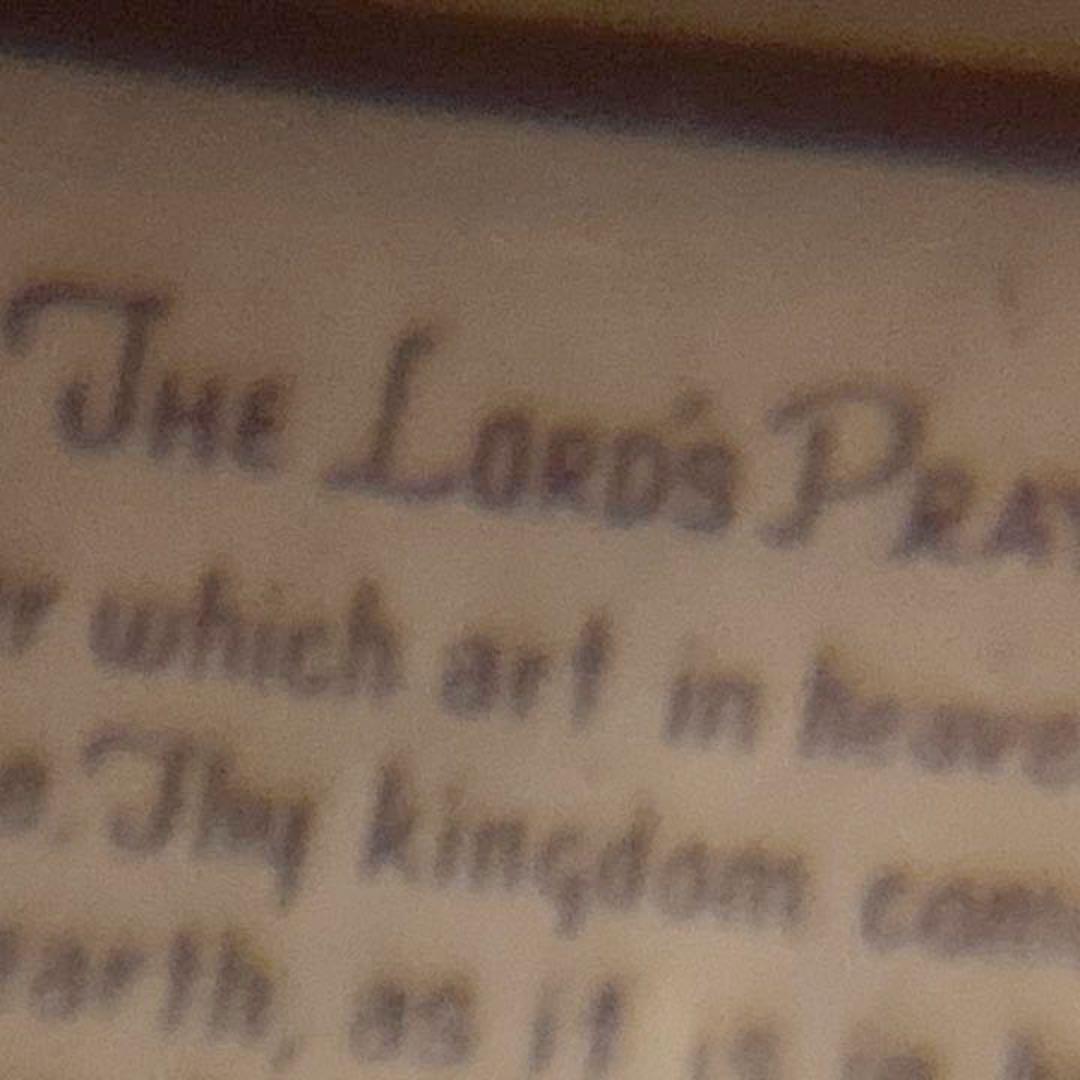 祈り 英語 の 主