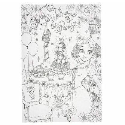 メルカリ ディズニープリンセス 大人の塗り絵 アリエル ラプンツェル