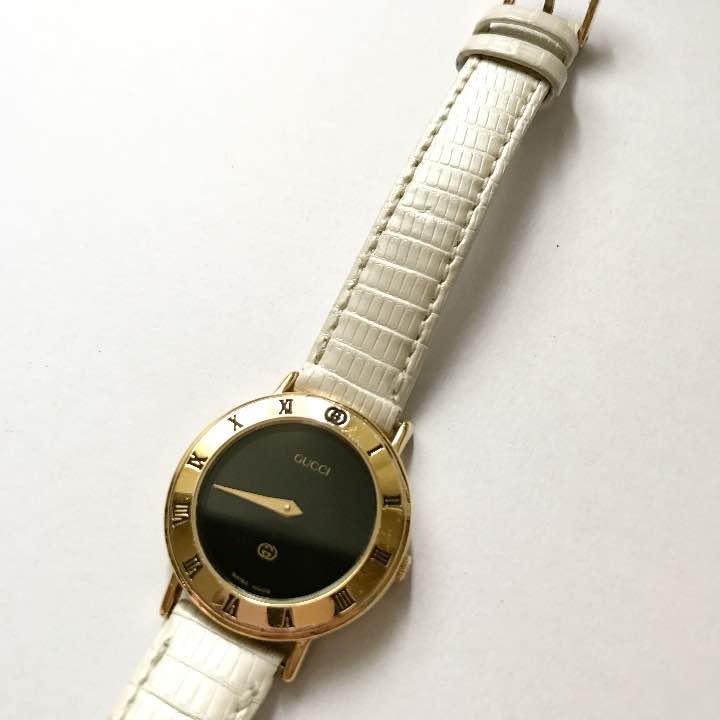 e4c7b76b6193 メルカリ - GUCCI グッチ ヴィンテージ 時計 【腕時計(アナログ ...