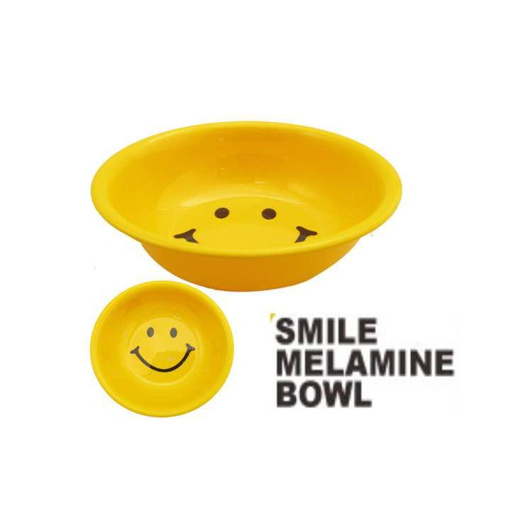 スマイル メラミン製 ボウル 食器 Smile Bowl 可愛い ニコちゃん400 メルカリ スマホでかんたん フリマアプリ